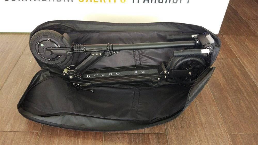 сумка для электросамоката